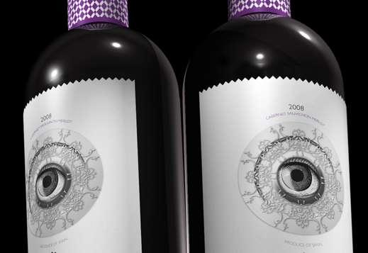 Bulging Eye Beverage Branding