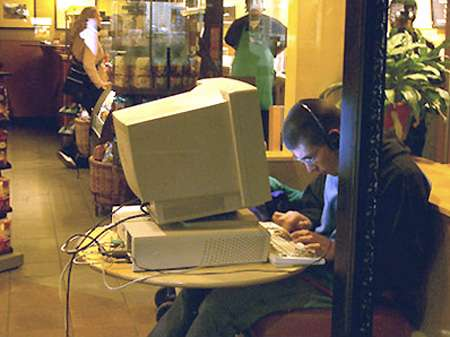 Byo Desktops Free Starbucks Wi Fi Leads To Office Spaces