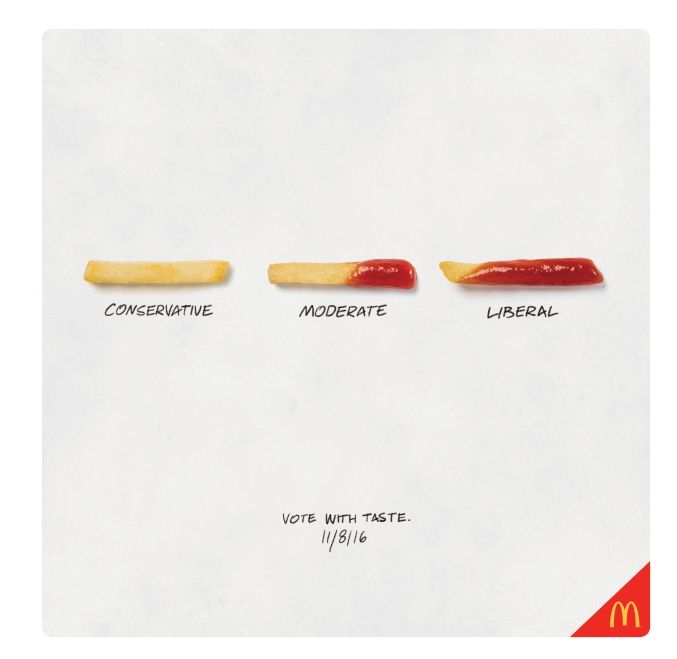 Political French Fry Ads