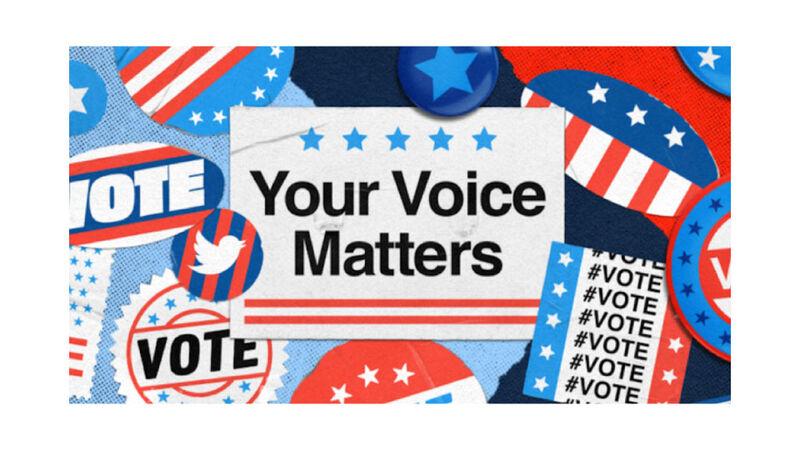 Social Media Voting Information