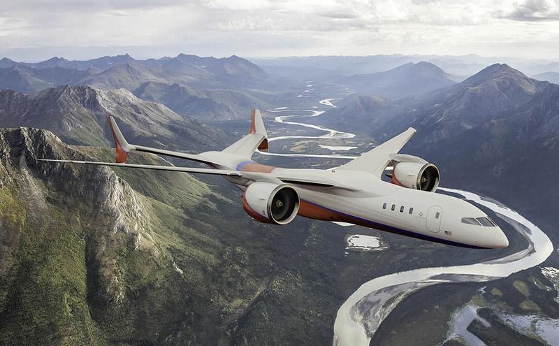 Bottomless Electric Aircraft