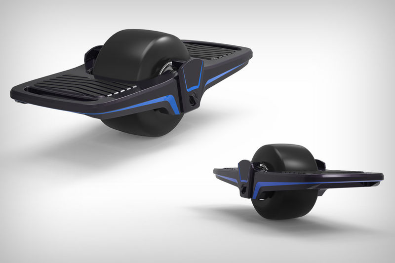 Last-Mile Folding Hoverboards