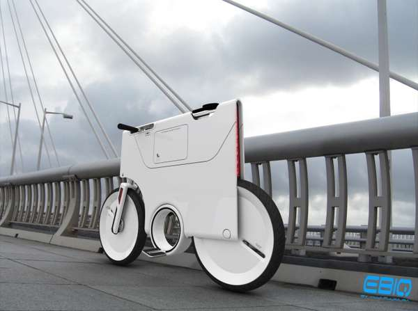 Flat-Pack Battery Bikes