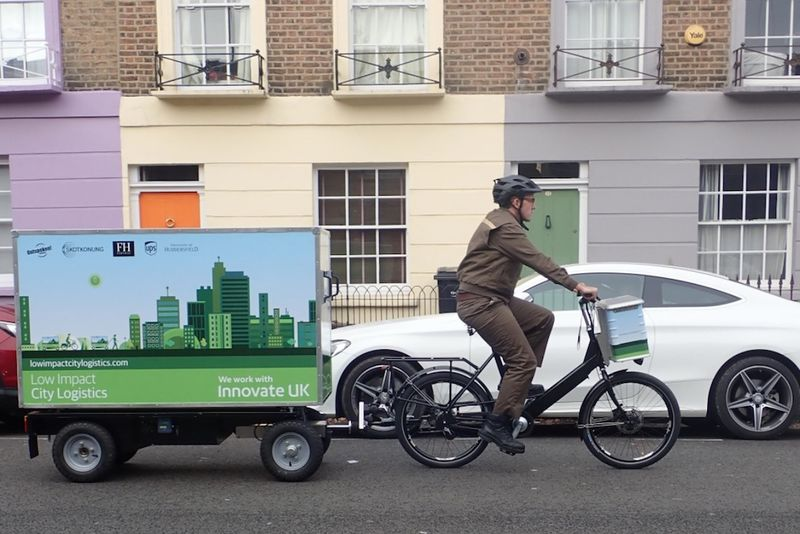 E-Bike Delivery Vehicles