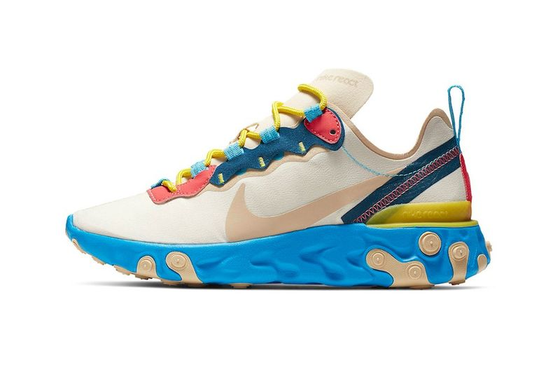 Striking Tonal Running Sneakers