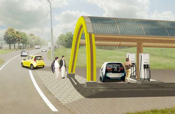 Sustainable Car Charging Stations