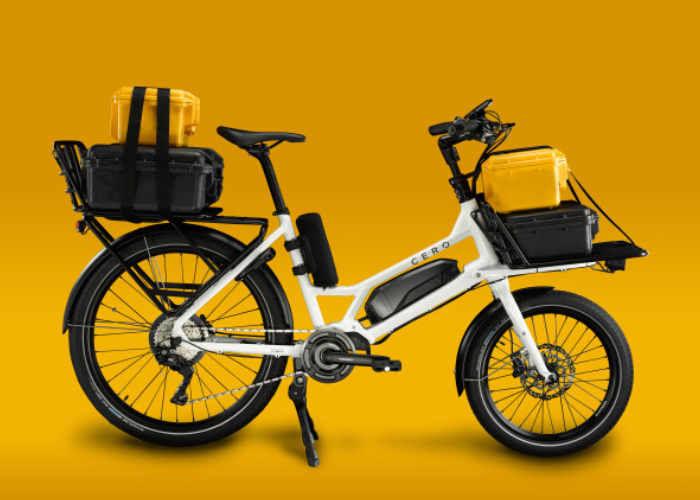 Modular Electric Cargo Bikes