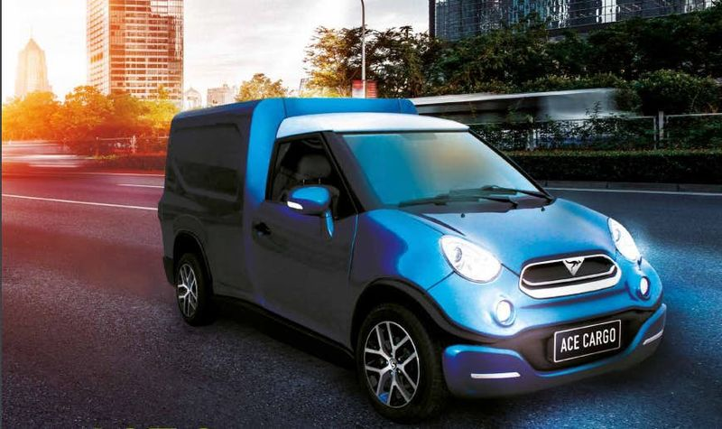 Electric Urban Delivery Vans