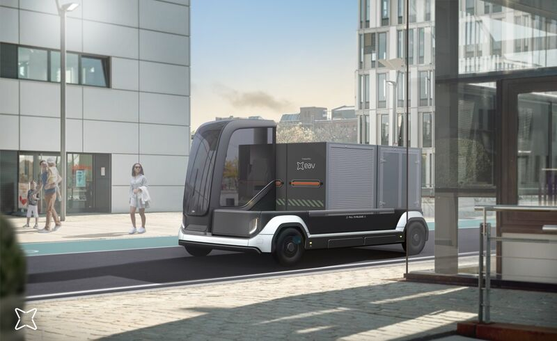 Chain-Linked Cargo Vans