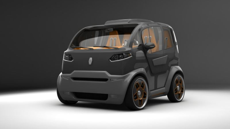 Multi Fuel City Cars Electric City Car