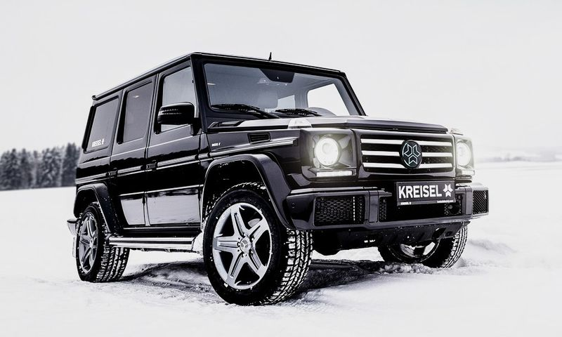 All Electric G-Wagons