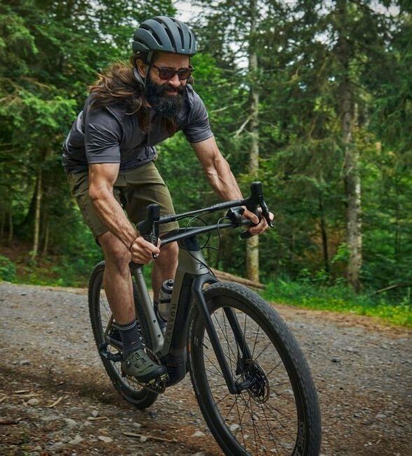 Feature-Rich Off-Road Electric Bikes