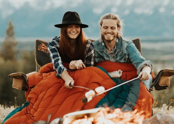 Connected Heated Sleeping Bags