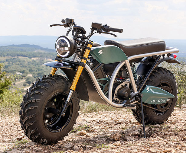 Rugged Electric Off-Road Motorcycles