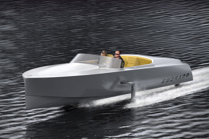Supersonic Electric Powerboats