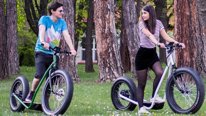 Upright Urban Bike Scooters