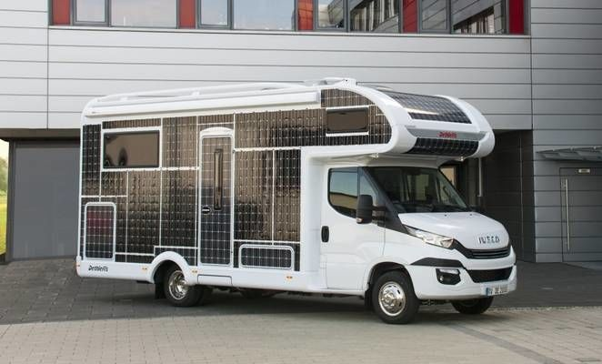 Electric Solar-Powered RVs