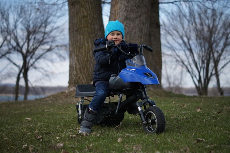 Child-Friendly Electric Snowmobiles