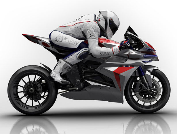Aerodynamic Electric Motorbikes