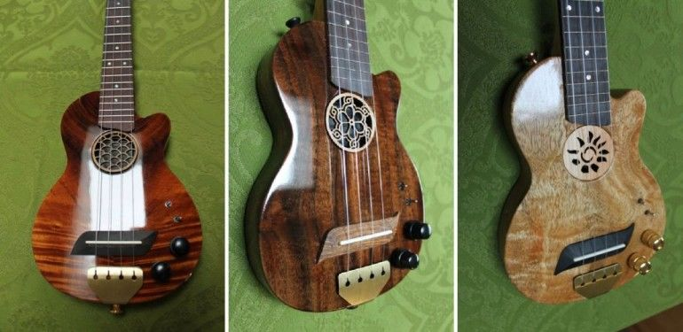 Eclectic Electric Ukuleles