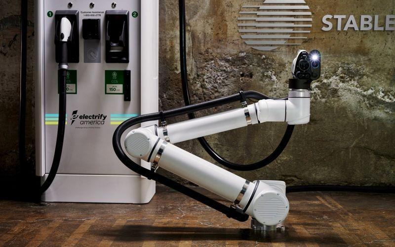 Autonomous Electric Vehicle Charging