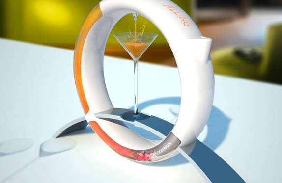 Ringed Martini Mixers