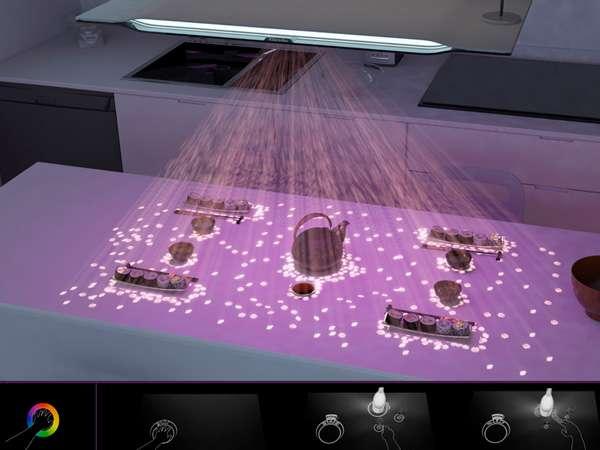 Multimedia Countertop Lamps