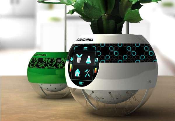 Hi Tech Globe Gardens Electrolux Pot Moots