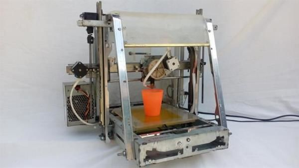 Waste-Made 3D Printers