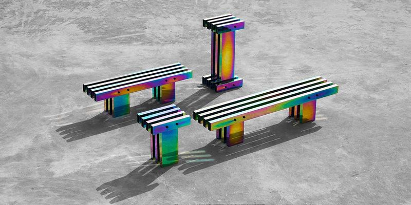 Industrially Psychedelic Furniture Designs