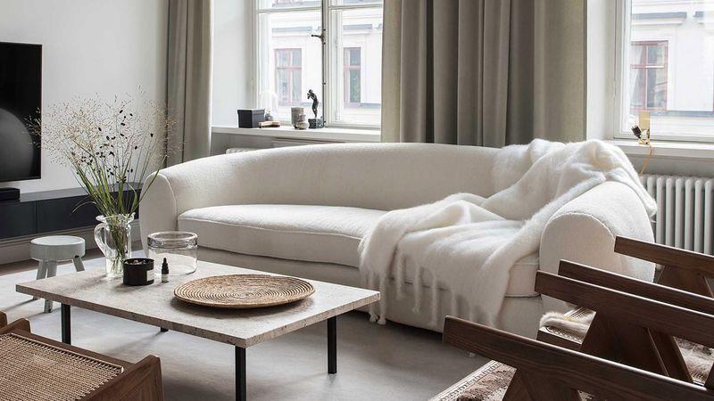 Ethereally Elegant Apartment Interiors