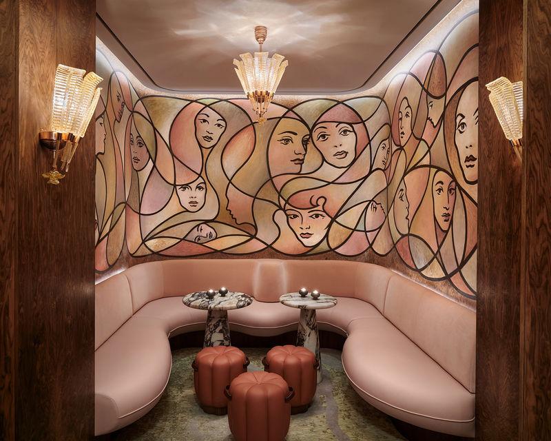 Cocoon-Like Elegant Hotel Bars