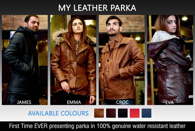 Leather Parka Designs