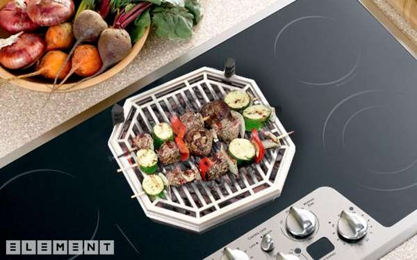 Smokeless Stovetop Barbecues Element Bbq