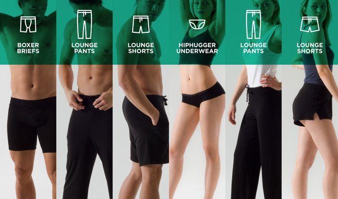 Sustainable Eucalyptus Underwear