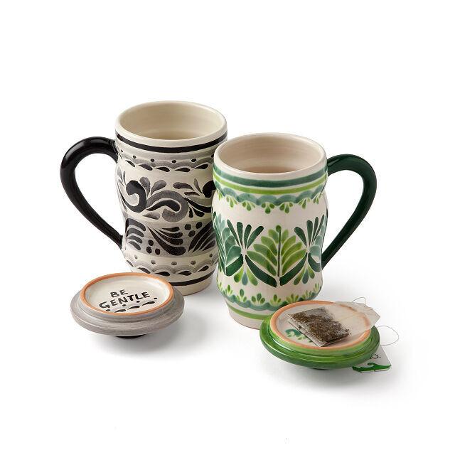 Elements Tea Steep Mugs
