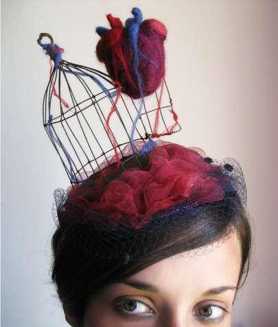 Heart-Inspired Headwear