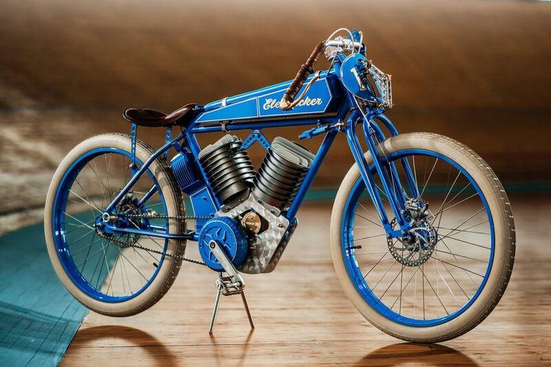 Vintage-Inspired Electric Bikes