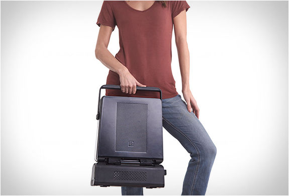 Suitcase BBQs