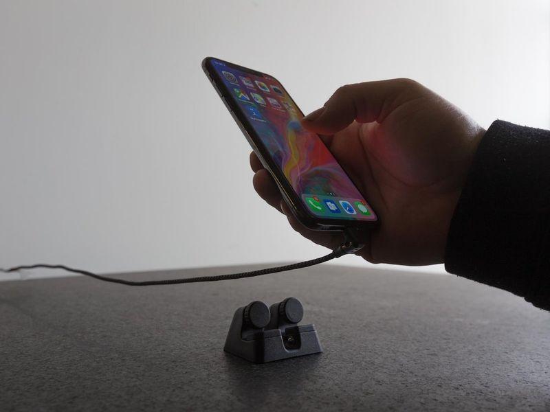 Ergonomic Charging Smartphone Docks