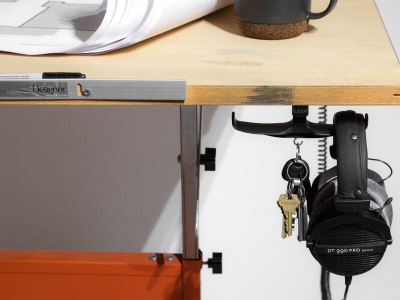 Hidden Headphone Holder Hooks