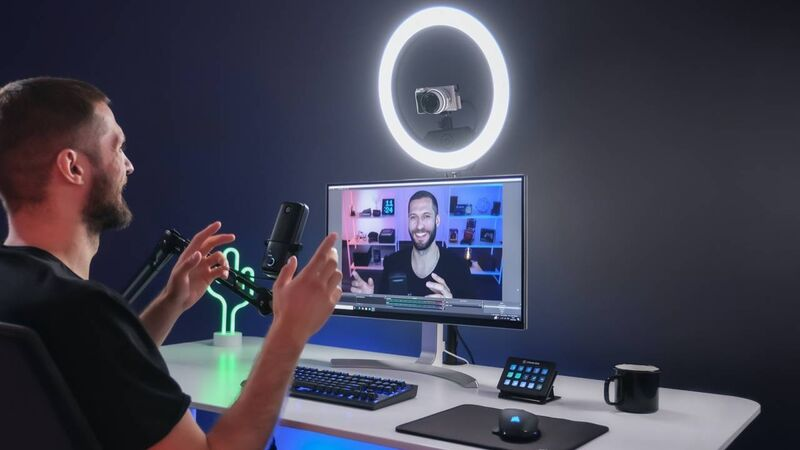 WiFi-Connected Ring Lights