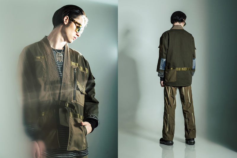 Militaristic Patchwork Clothes