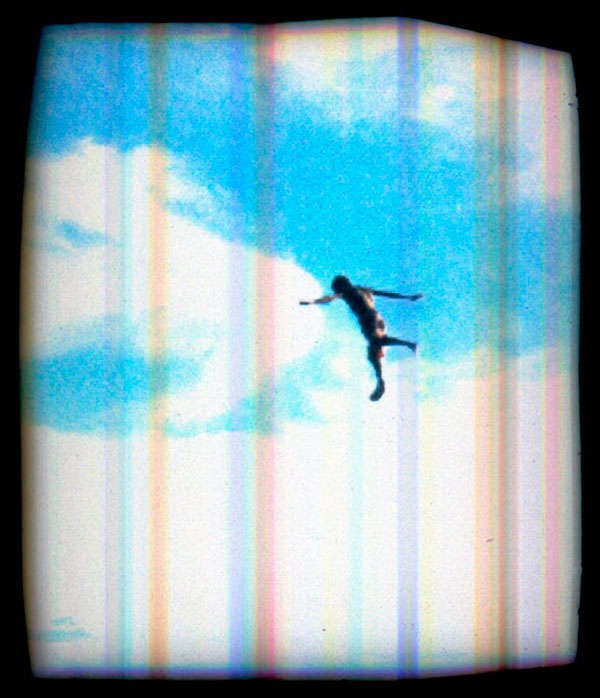 Flying Human Art