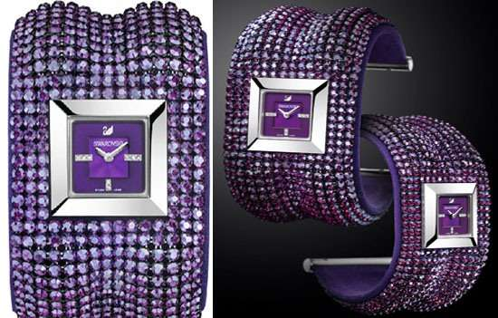 Precious Purple Timepieces