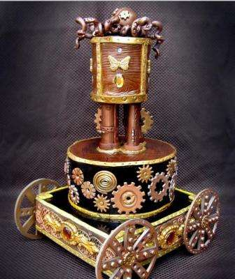 Edible Steampunk Art