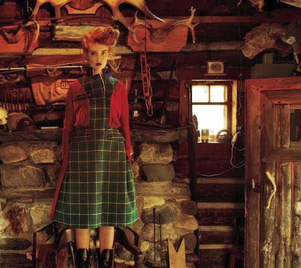 Cozy Cottaged Editorials