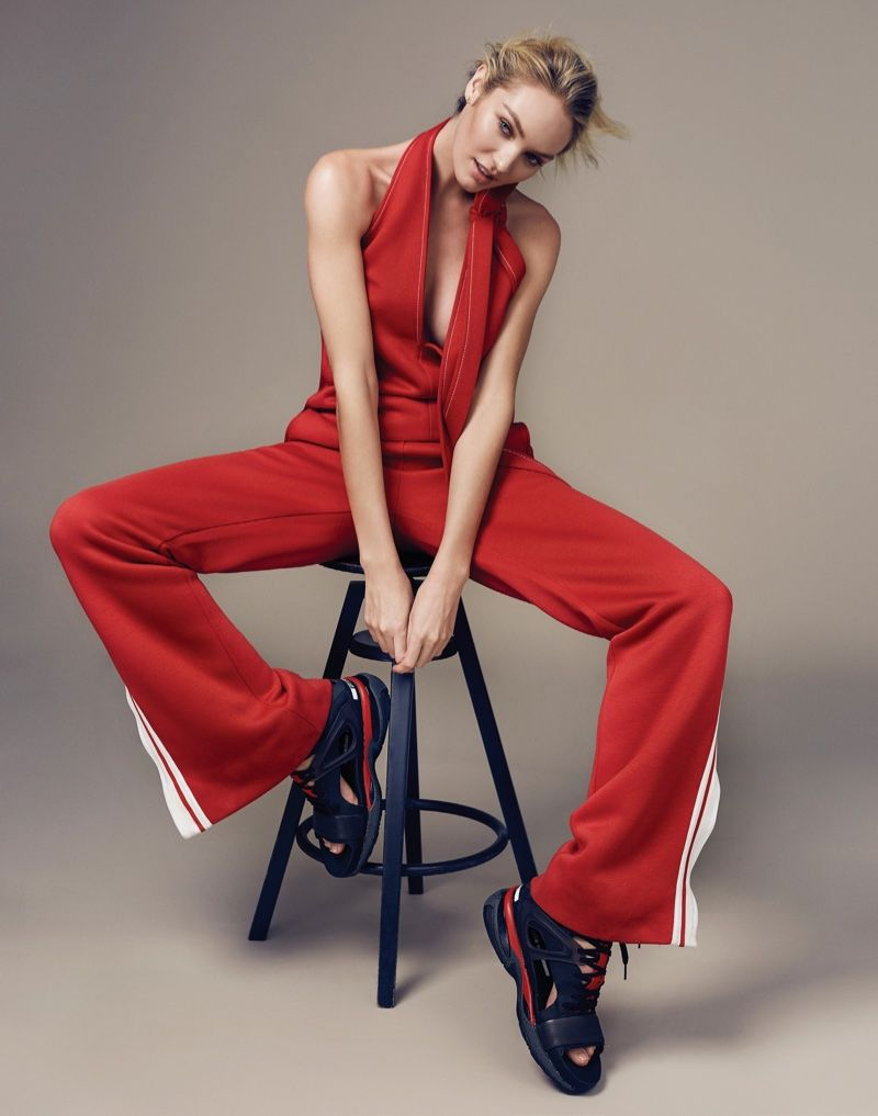 Sporty Glam Editorials