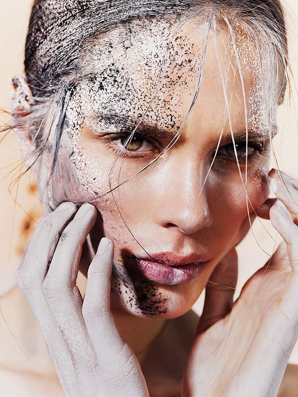 Literally Glistening Glamor Editorials