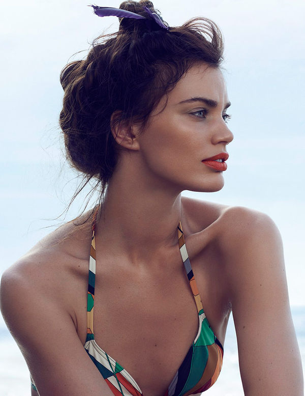 Color Pop Beachside Editorials